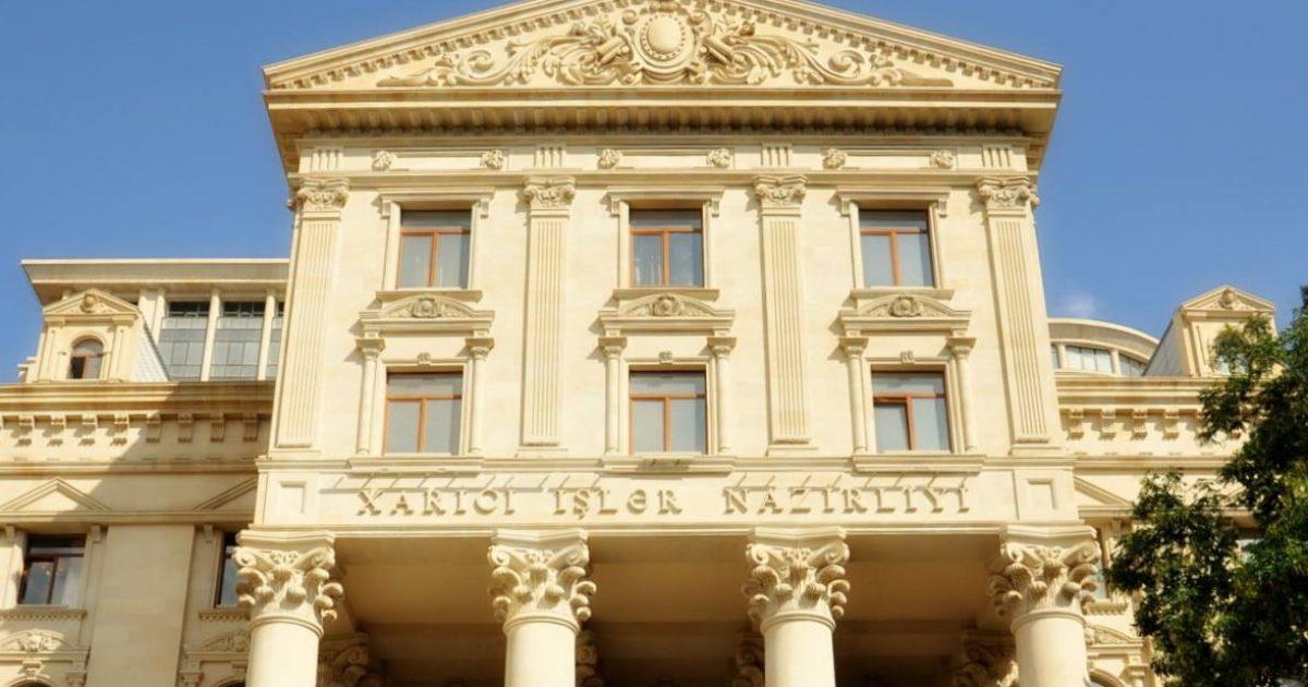بيان قوي من وزارة الخارجية الأذربيجانية بشأن منطقة قرة باغ المتنازع عليها مع أرمينيا