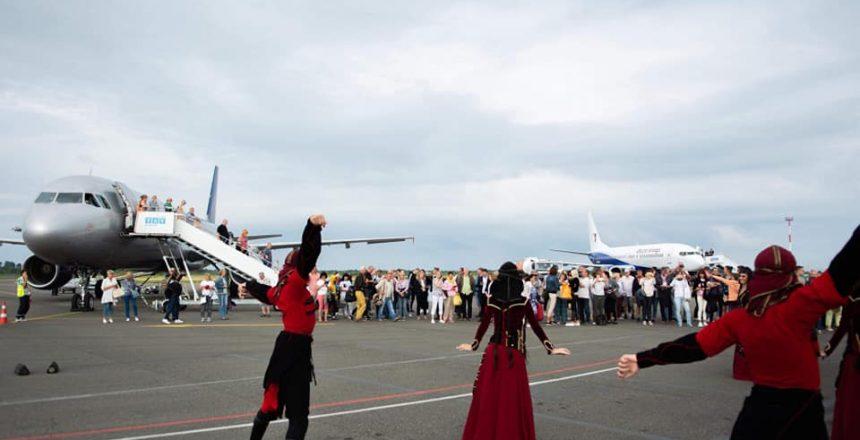 طيران شارتر بين باتومي واستونيا